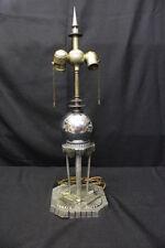 1940's Sci-Fi Fantasy Gothic Futuristic Steam Punk Art Deco Metallic Table Lamp