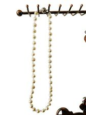 Fresh Water Pearl String / Strand Women's Necklace - 8 Inches Long