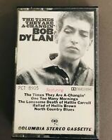 Bob Dylan - The Times They Are A Changing - Cassette - Columbia
