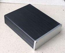 Mini Aluminum DIY Audio Chassis Enclosure / Case / Preamplifier Box 130x40x169mm