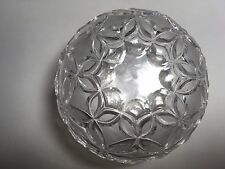 Decorative Unusual Gorgeous Engraved Glass Candy Dish Stack Bowls 2-in-one