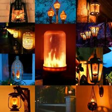 Lumiereholic Led Bulbs Flame Effect Light Bulb Fire Flickering Decorative Bulbs