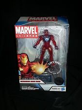 Marvel Universe Extremis Iron Man Avengers Assemble Light Up Base First Edition