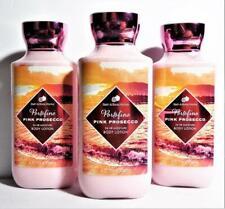 3 Bath Body Works PORTOFINO PINK PROSECCO Body Lotion Cream 8 oz