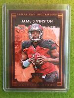 JAMEIS WINSTON ROOKIE CARD RC TAMPA BAY BUCS SP Brown Frame FOIL 2015 Panini#101