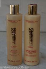 2 PACK. Sebastian Laminates Sheer Weightless Shampoo & Sheer Conditioner. NEW.