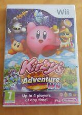 KIRBY'S ADVENTURE Nintendo WII  FACTORY SEALED MINT UK PAL