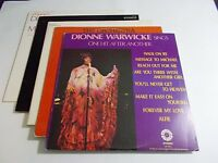 Lot Of 5 Soul Pop LP Wholesale Dionne Warwick Diana Ross Vinyl Record