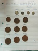 Australia starter set lot #10 silver and copper coins 012902