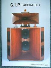 G.I.P. Laboratory - Broschüre