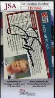 Jack Nicklaus JSA Coa Autograph 1991 Pro Set Hand Signed