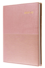 Collins Debden FY385.V4 Financial Year Diary - Rose Gold