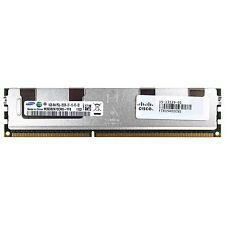 Cisco Genuine 16GB 4Rx4 PC3L-8500R DDR3 1066MHz 1.35V ECC RDIMM Memory RAM 1x16G