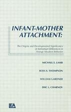 Infant-Mother Attachment: The Origins and Developmental Significance-ExLibrary