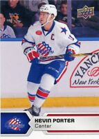 17/18 UPPER DECK AHL #94 KEVIN PORTER ROCHESTER AMERICANS *47842