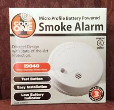 NEW in Box ~ CODE ONE i9040 Battery-Operated Smoke Alarms