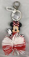 Disney Parks Minnie Mouse Koosh Ball Keychain PVC - NEW