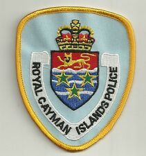 Cayman Islands Royal Police Patch placa de policia mintio New Style