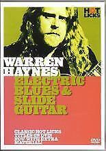 WARREN HAYNES Electric Blues & Slide Guitar DVD