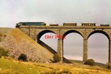 PHOTO  40XXX BALLAST TRAIN CROSSING DENT HEAD
