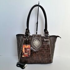 Montana West Concho Handbag Power Bank and USB Cable Western Cowgirl Purse