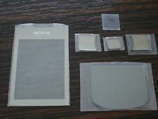 nokia 8800 arte carbon front screen glass bottom glass set  6 piece set