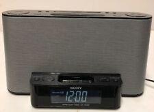 Sony Dream Machine Dock ICF-CS10iP iPhone iPod AM/FM Power Cord Clock Radio