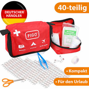 mini Erste Hilfe Reise Set Pflaster Verbandtasche Auto Fahrrad Outdoor Wandern