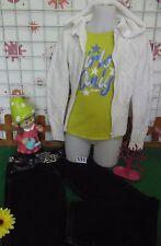 vêtements occasion fille 10 ans,sweat ,jean,gilet