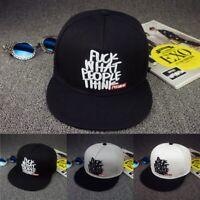 WHAT PEOPLE THINK STREET TIDE HIPHOP SNAPBACK BASEBALL CAP UNISEX HAT CAP