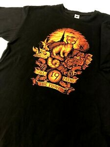 Stephen King Graphic T-shirt. Dark Tower. Tee Fury Size L. All 19 Paths Lead to