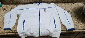 Vancouver 2010 Olympics Whistler Canada Mens XL Jacket White Zipper