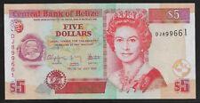 BELIZE P67d 5 Dollars 2009 UNC
