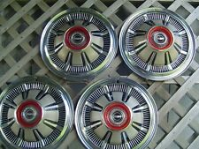 VINTAGE 1966 1967 1968 GALAXIE FORD PICKUP TRUCK BRONCO HUBCAPS WHEEL COVERS 4+4