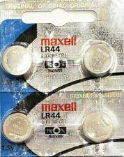 4 x Fresh Maxell LR44 357 157 303 A76 LR154 L1154 1.5V Alkaline Battery