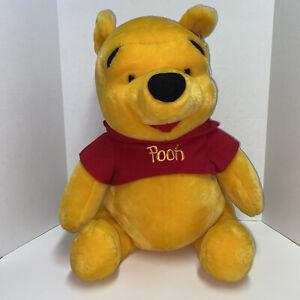 """Winnie the Pooh Plush Stuffed Animal Disney 19"""" w/ Tag Vintage Large Giant Jumbo"""