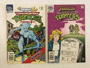 Teenage Mutant Ninja Turtles #54 & #55