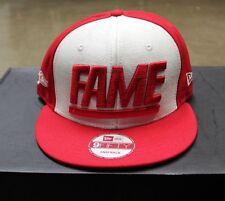 HOF Hall of Fame Snapback Hat Mens Red White New Era
