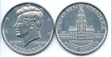 "3"" Jumbo Metal Novelty Coin Replica - 1976 Bicentennial Kennedy Half Dollar"