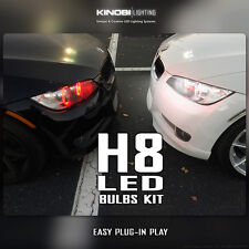 H8 LED Multi-Color Bulbs Kit | Halo Angel Eyes | Fog Light - Wireless Remote BMW