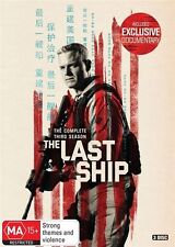 The Last Ship : Season 3 (DVD, 3-Disc Set) NEW