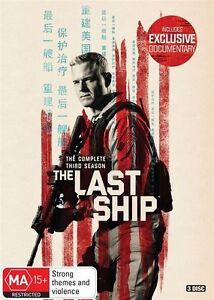 The Last Ship : Season 3 (DVD, 3-Disc Set) NEW
