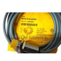 TURCK NI10-G18-AP6X INDUCTIVE PROXIMITY BARREL SENSOR PLC NEW