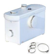Macerator Toilet Shower Sink Bathroom WC PUMP 5way Sanitary Waste 8400Lph 600W