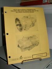 1983 Mack Trucks Service Manual Maxitorque Transmissions TRXL1070 10710 1070A