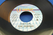 THE ZEBRAS - Razor Girl / I Don't Do It No More - 1980 NEAR MINT- PROMO