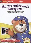 Baby Genius - Mozart and Friends Sleepytime (DVD 2004) BONUS CD NEW! Educational