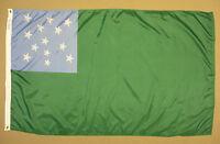 Green Mountain Boys Vermont Indoor Outdoor Dyed Nylon Historical Flag 3'X5'