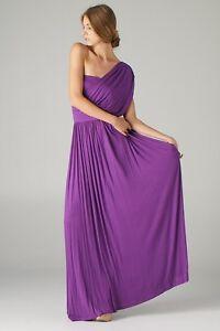 One Shoulder Greek Goddess Dress