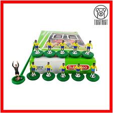 More details for brazil subbuteo team ref 63410 vintage table football soccer toy brasil lw u19